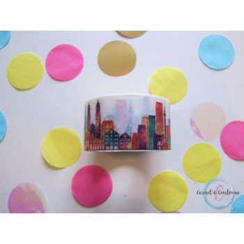 "Large Washi Tape ""City"""