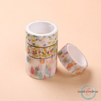 Pack Washi Tape Color