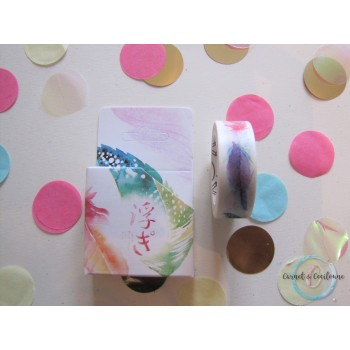 Washi Tape Plume exotique