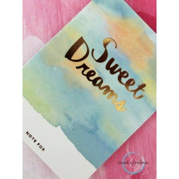 Petit carnet - Sweet Dreams...