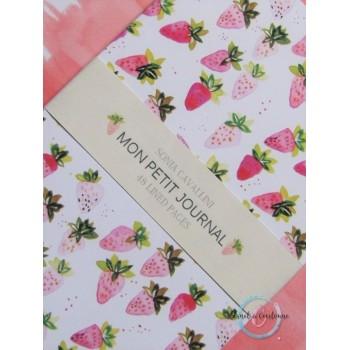Petit carnet / A6 / fraise