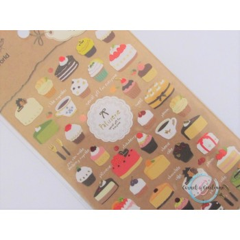 Planche Stickers : gourmandise