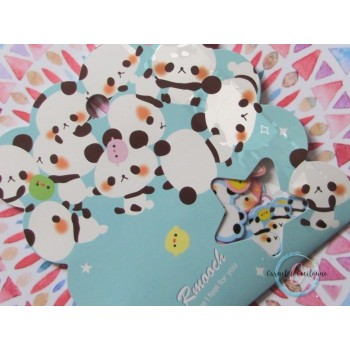 Sachet Stickers : Panda