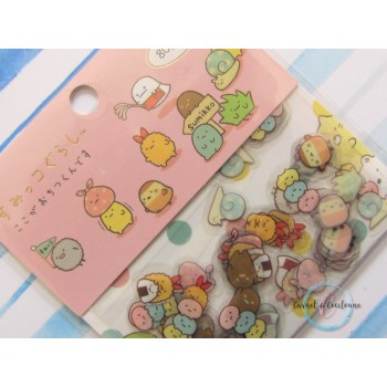 Sachet Stickers : Kawaii -...